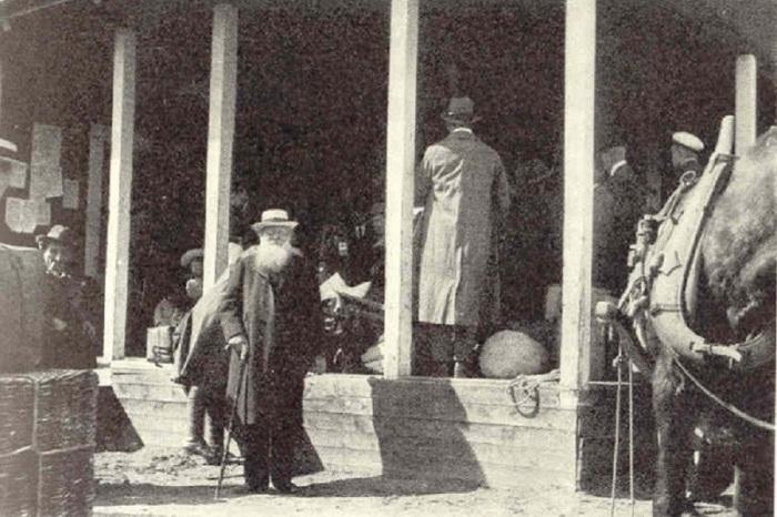 Пётр Алексеевич Кропоткин проездом в Хапаранде, Швеция, 1917 год./Фото: ic.pics.livejournal.com