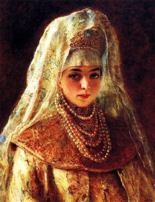 Предположительно портрет Соломонии./Фото: i.pinimg.com