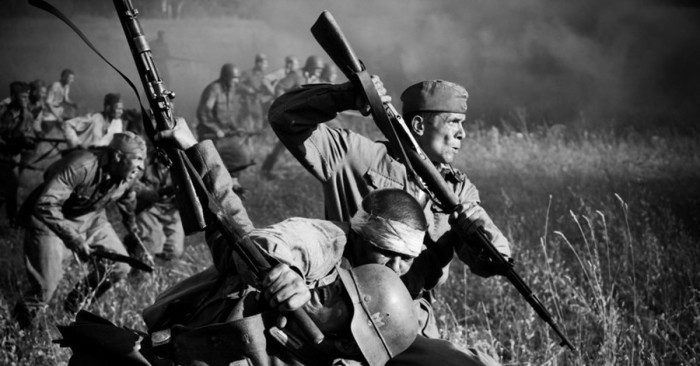 Штыковой бой. /Фото: cs9.ru