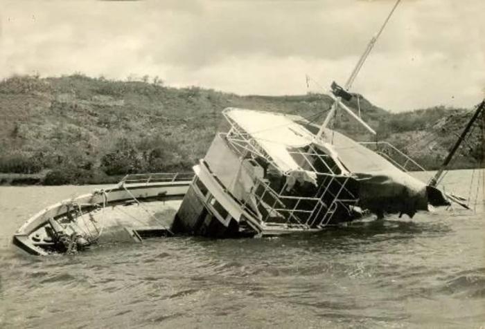 Корабль продолжал держаться на плаву спустя 5 недель поисков. /Фото: avatars.mds.yandex.net