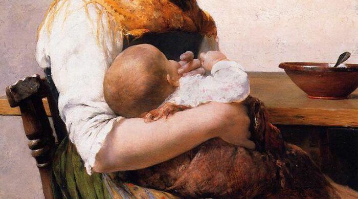 Молочная мать – та, которая выкормила. /Фото: mamascom.ru