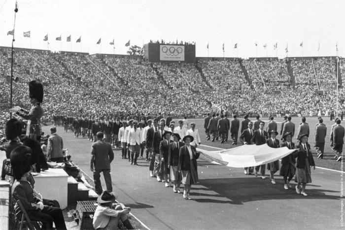 Олимпийские игры 1948 г., Лондон. /Фото: olympichistory.info