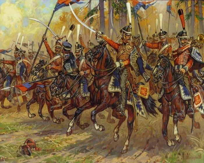 Гусарские полки начали пополняться русскими только с конца 18 века, будучи до этого иностранными./Фото: avatars.mds.yandex.net