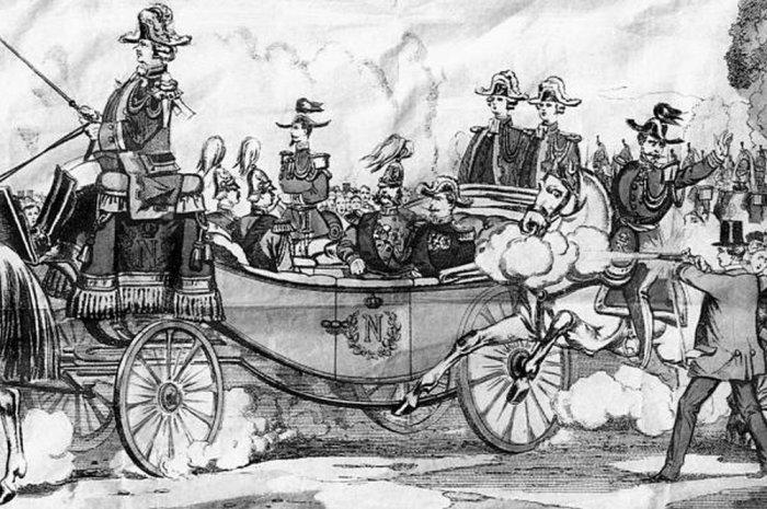 Покушение на императора Александра II в Париже. 1867 год./Фото: img.rg.ru