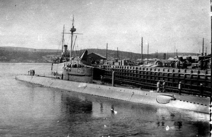 Подводная лодка Д-3 «Красногвардеец»./Фото: i59.fastpic.ru