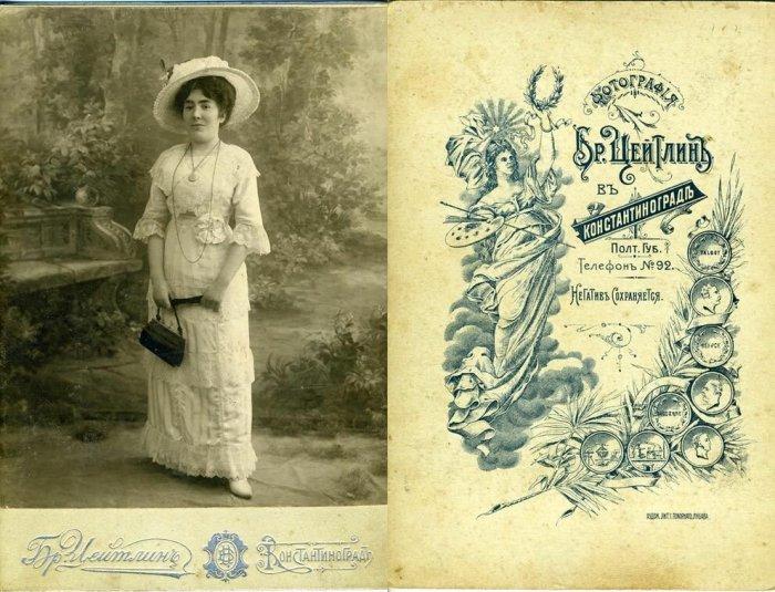 Работа из фотоателье 19 века. /Фото: img-fotki.yandex.ru