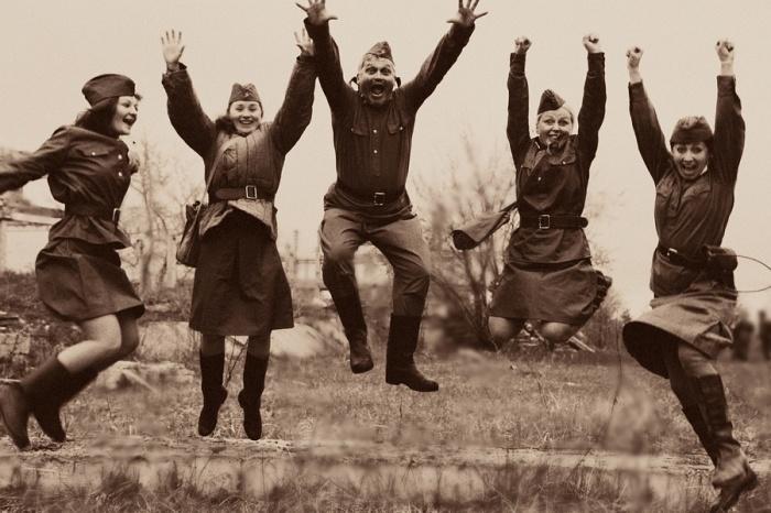 Победное «Ура!». /Фото: fotoprizer.ru