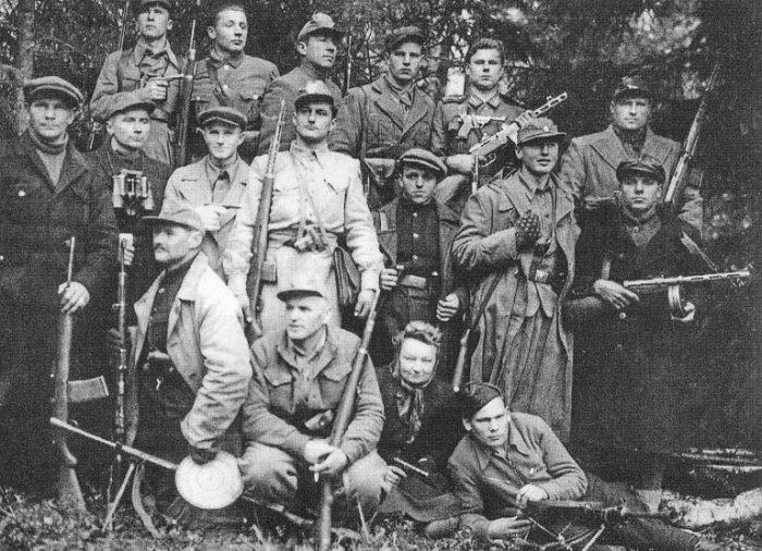 Прибалтийские «лесные братья». /Фото:myagkayasila.ru