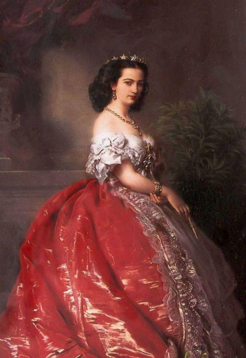 Матильда Бонапарт, тётя Луи-Наполеона./Фото: i.pinimg.com