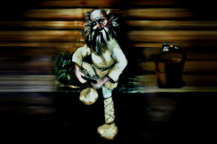 Банник иногда появлялся в образе маленького  старичка с длинной бородой. /Фото: rusunion.com
