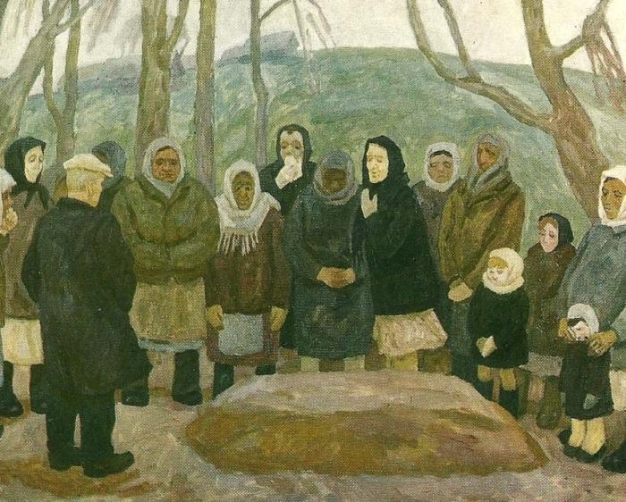 Хоронили человека обычно на третий день после смерти. /Фото: readweb.org