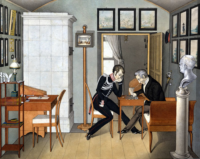 В Третьем отделении работали всего 16 человек./Фото: museumpushkin.ru