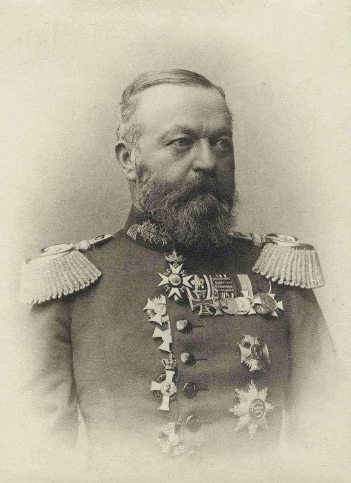 Командир 11-й дивизии ландвера генерал-лейтенант Рудольф фон Фройденберг (1851—1926)./Фото: upload.wikimedia.org