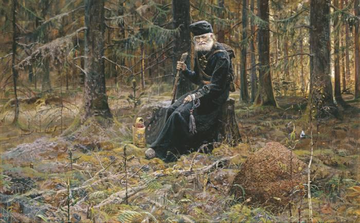 В монастыре, после скитаний, у Авеля начались странные видения, которые он озвучивал в виде пророчеств./Фото: ufonews.su