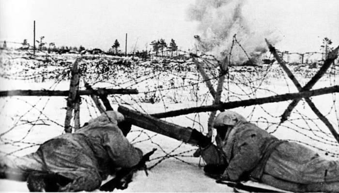 Советские разведчики в первый день «Искры»./Фото: s00.com
