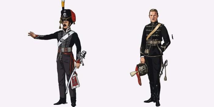 Александрийский гусар 1816 и 1912 года./Фото: e-news.su