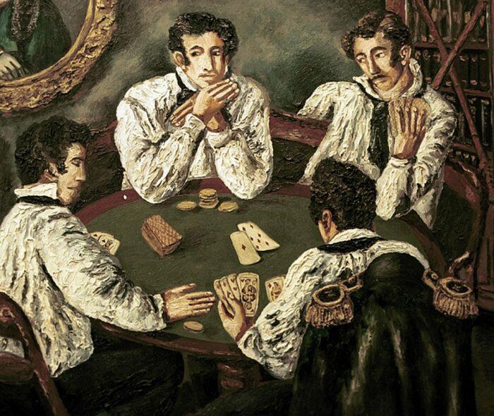 Карты считались непристойной игрой. /Фото: citifox.ru