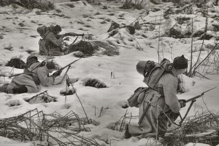 Война с белофиннами 1918. /Фото: pbs.twimg.com