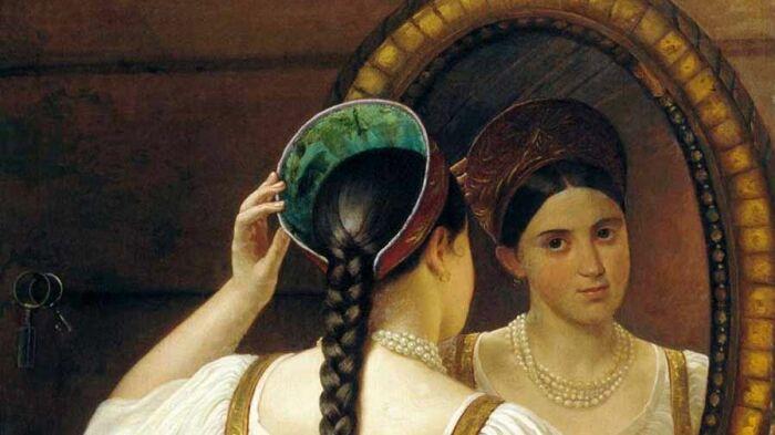 Крестьянки отдавали волосы почти даром. /Фото: rossaprimavera.ru
