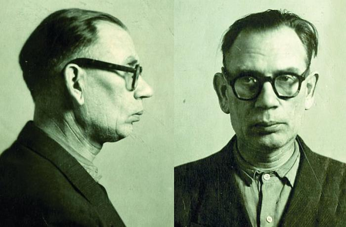 Тюремное фото А.А. Власова из материалов уголовного дела./Фото: interesnyefakty.org