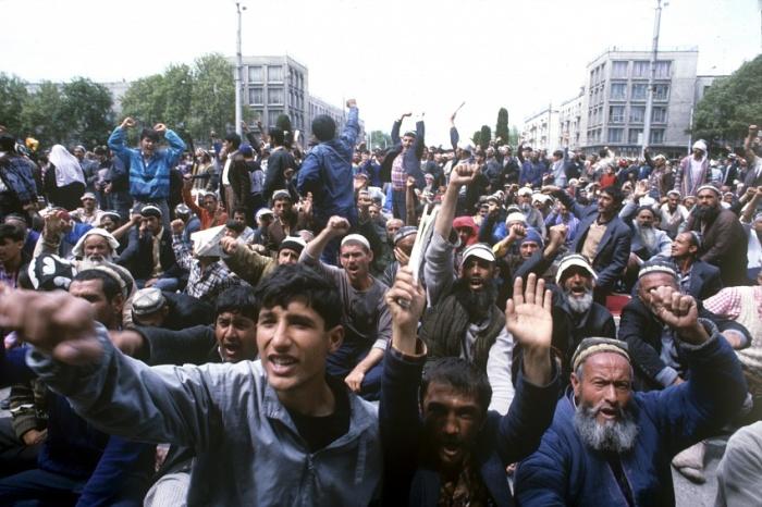 беспорядки в Душанбе