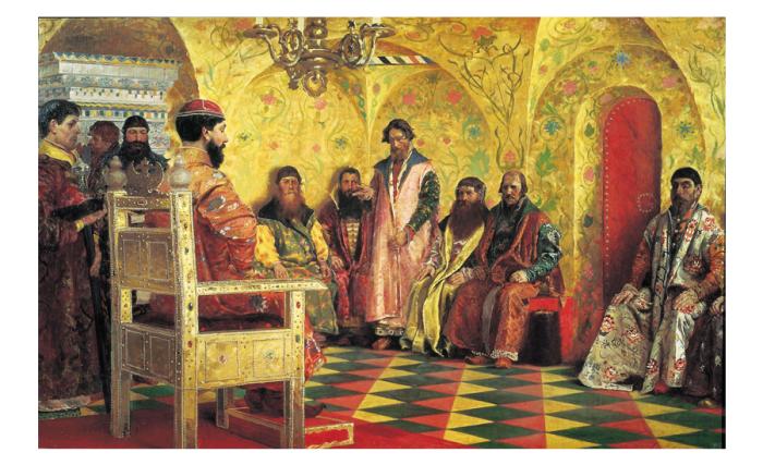 Перед воцарением на престол первого Романова Польша едва не поглотила русских./Фото: sputnikipogrom.com