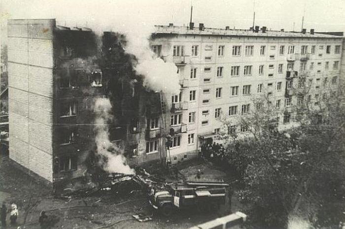 Место авиакатастрофы в Новосибирске./Фото: img.anews.com