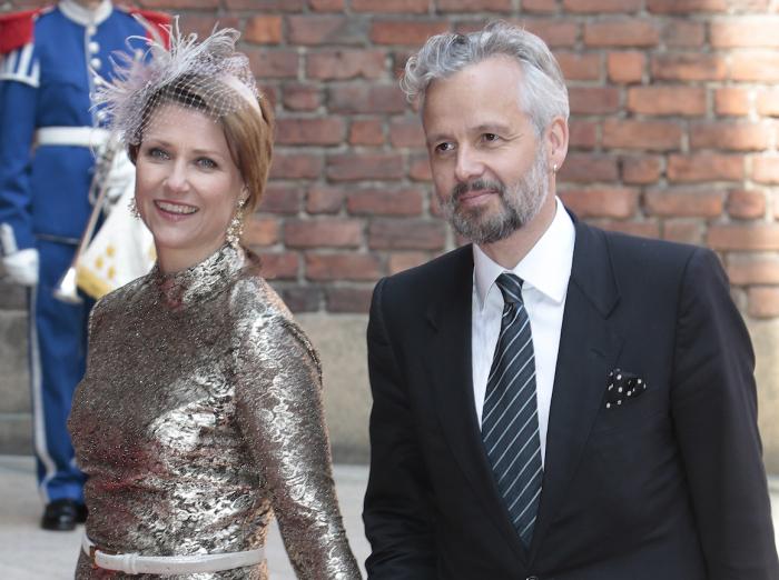 Марта Луиза с супругом перед разводом./Фото: www.gonagasviessu.no