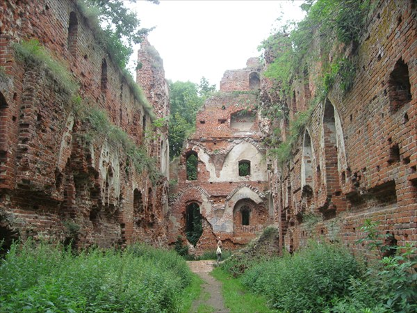 Развалины замка Брандербург