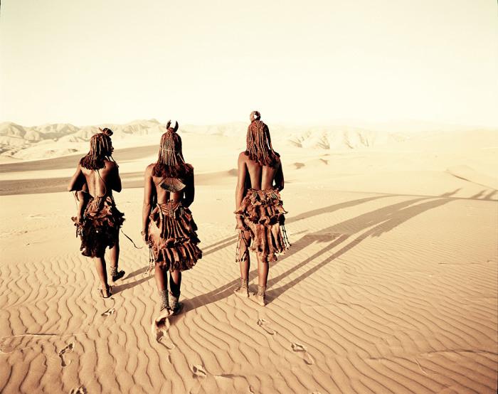 Женщины Намибии./Фото: st.pixanews.com
