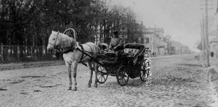 Извозчик. Фото начала ХХ века./Фото: old-towns.ru