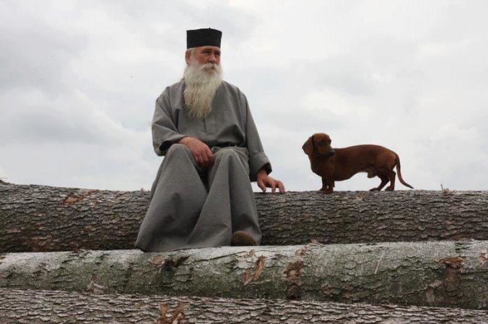 Поп и собака./Фото: pravlife.org