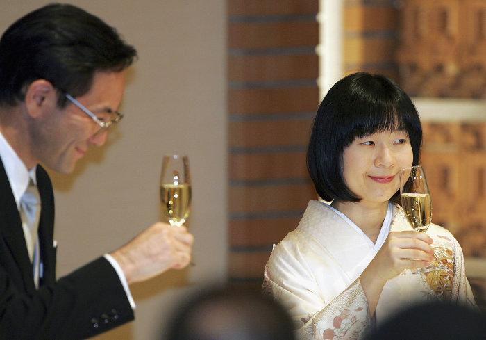 Принцесса Саяко и Ёсики Курода./Фото: www.elle.vn
