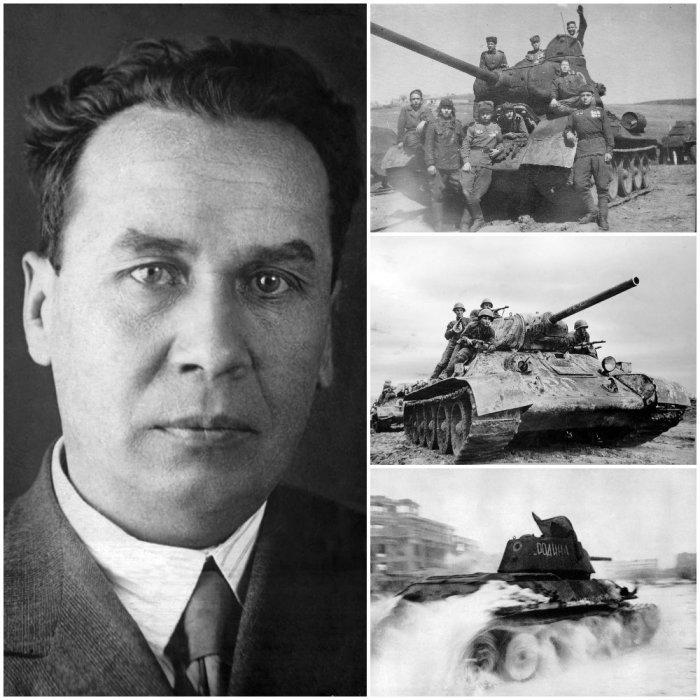 Михаил Ильич Кошкин – гений из кондитерской, инженер, создавший легендарный Т-34./Фото: pbs.twimg.com