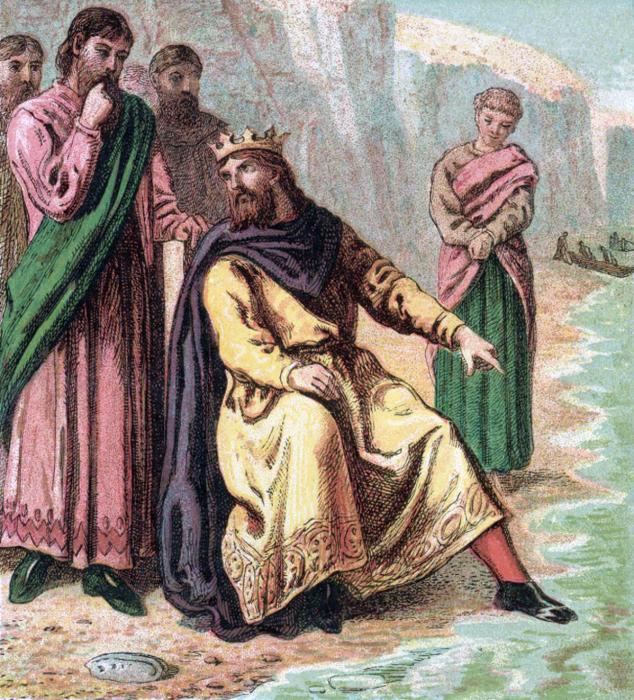 Кнуд Великий и его придворные./Фото: upload.wikimedia.org
