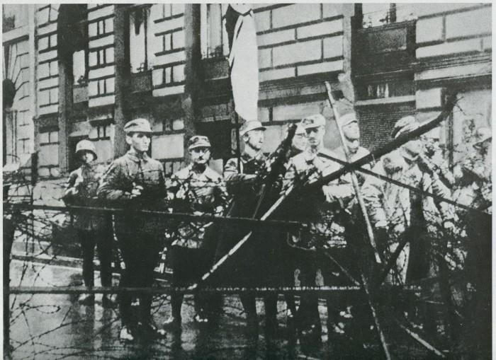 Недовольные граждане Германии, 1923 год. / Фото: upload.wikimedia.org