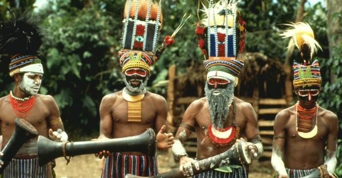 Аборигены Австралии./Фото: turne.by