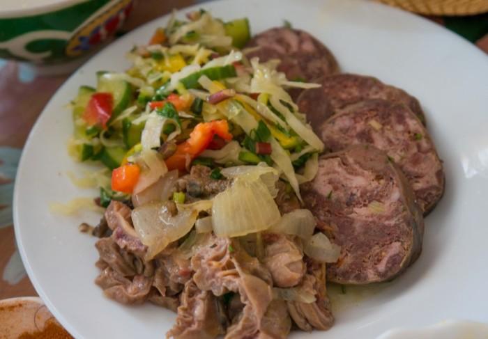 Мясное блюдо./Фото: ic.pics.livejournal.com