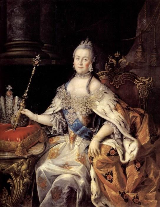 Екатерина Великая играла в карты и с фаворитами, и с придворными, и с европейскими монархами./Фото: ic.pics.livejournal.com
