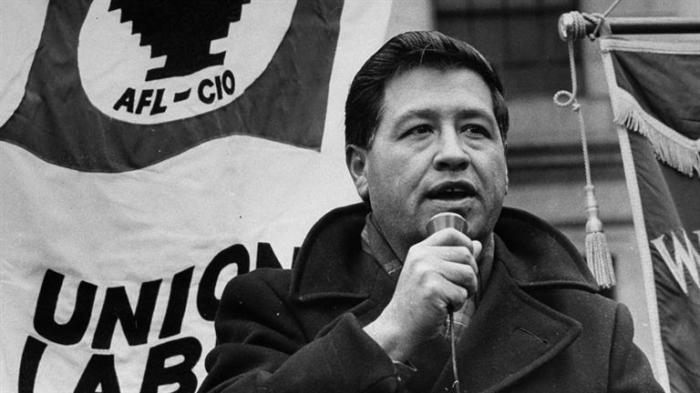 Сезар Чавес возглавил движение против эксплуатации нелегалов на виноградниках./Фото: picsmine.com