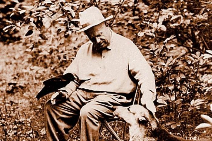 Хрущев на пенсии - стар, но не сломлен./Фото: cf.ppt-online.org