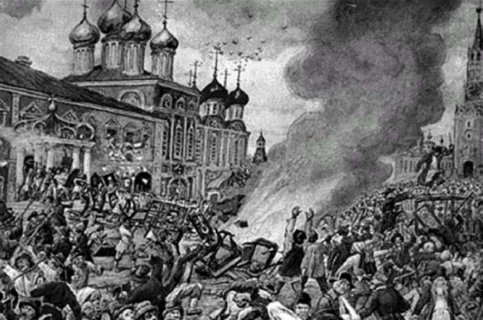 Народный бунт во время чумы./Фото: static1.repo.aif.ru