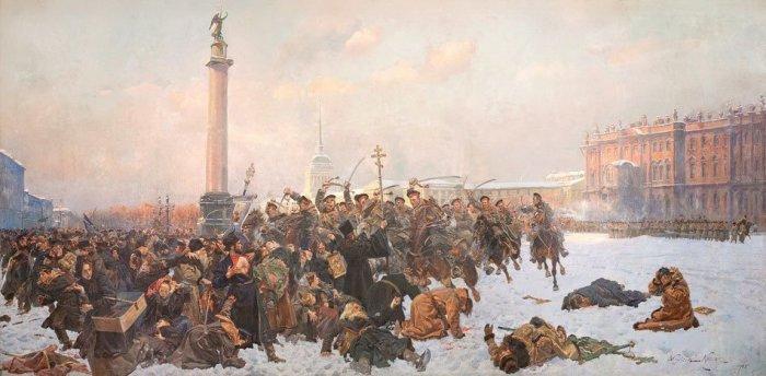Кровавое воскресенье./Фото: istoriarusi.ru