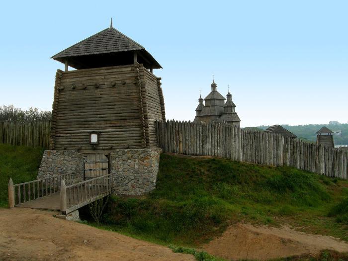 Укрепления Запорожской сечи./Фото: photohost.ru