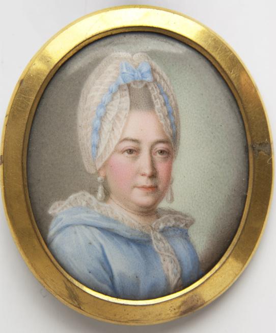 Мария Алексеевна Пушкина, жена Осипа Ганнибала