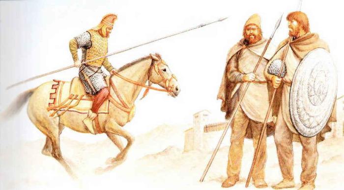 Так выглядели дакские воины