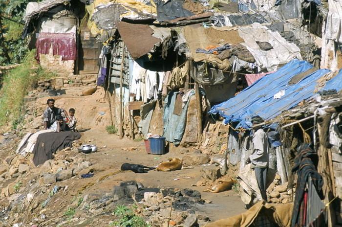 Поселок неприкасаемых./Фото: cdn.fishki.net