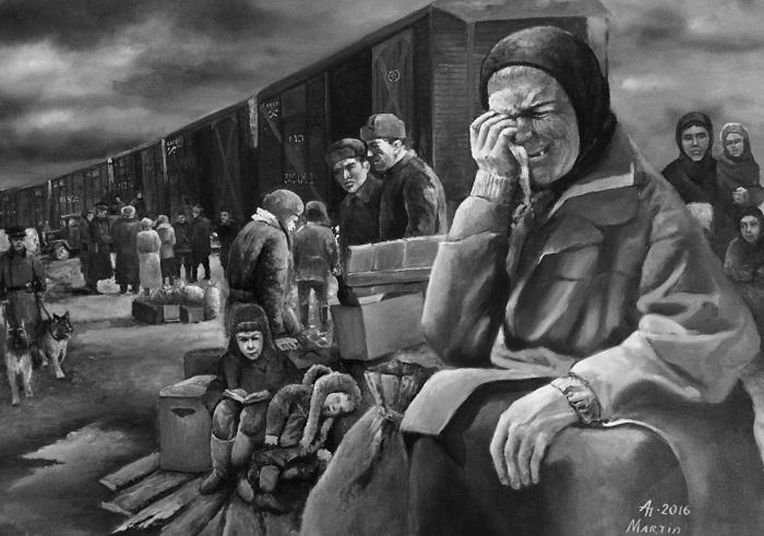 При перевозке ссыльных часть заключенных просто не выживала в пути./Фото: tengrinews.kz