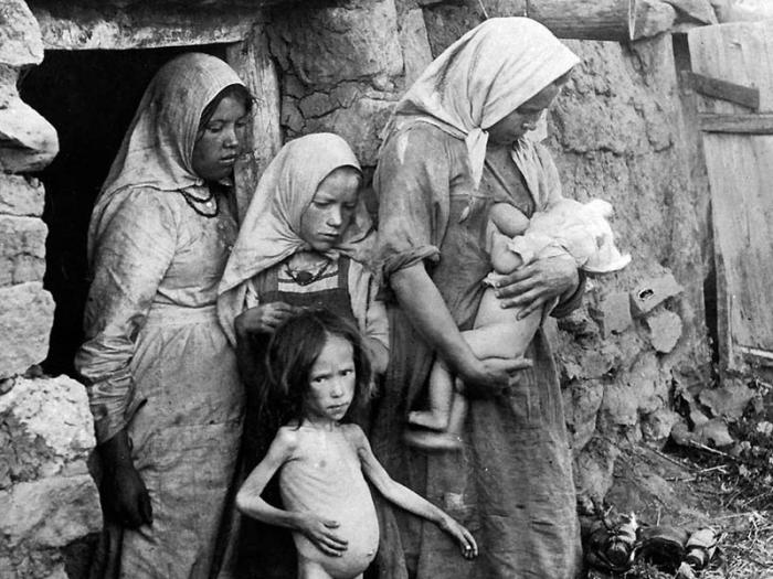 Голод 30-х годов в Казахстане./Фото: stanradar.com