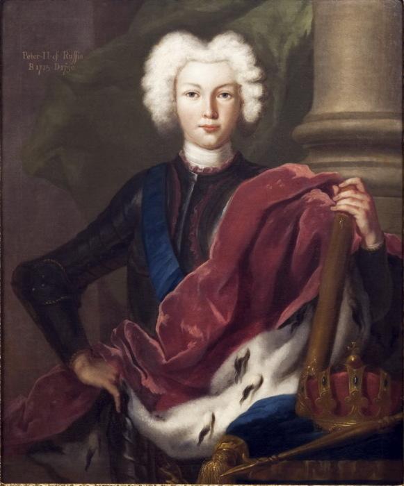 Петр II, портрет./Фото: img-fotki.yandex.ru